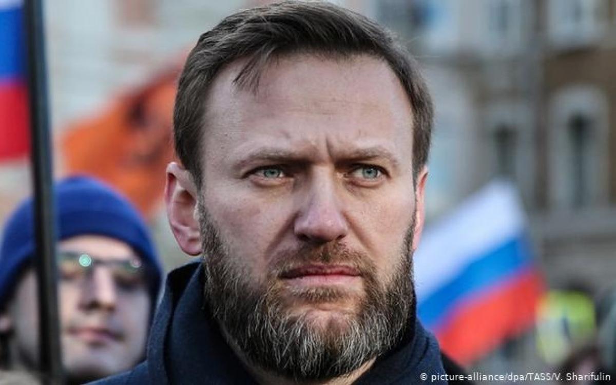 Thủ lĩnh đối lập Nga Navalny. Ảnh: Tass.
