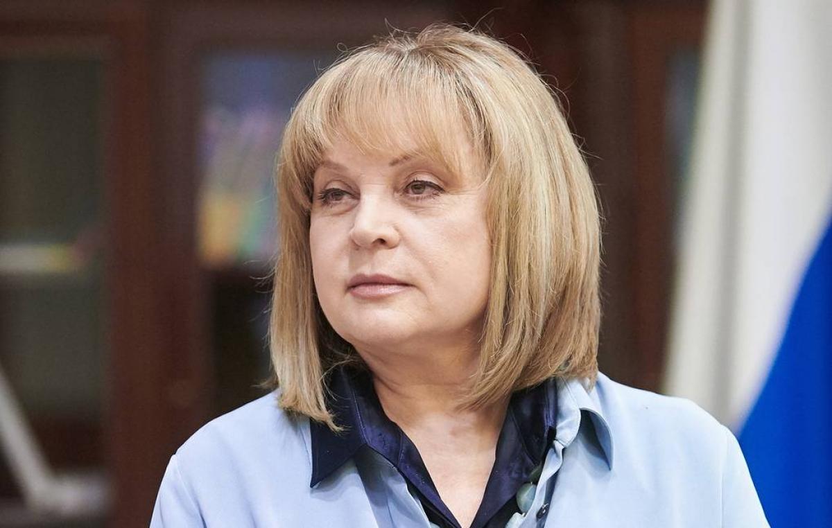 Chủ tịch Ủy ban Bầu cử Trung ương Nga Ella Pamfilova. Nguồn: Tass