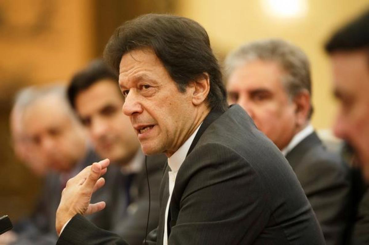 Thủ tướng Pakistan Imran Khan. Ảnh: Reuters