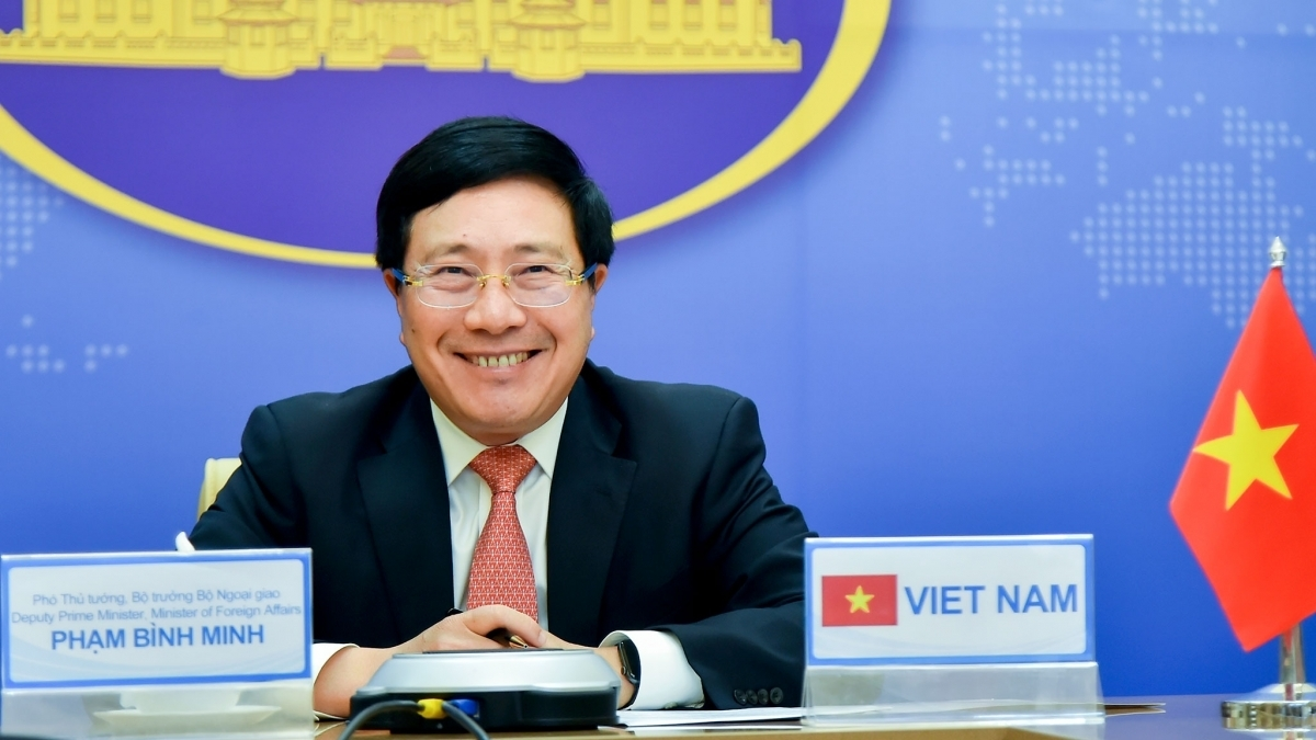 Vietnamese Deputy Prime Minister and Foreign Minister Pham Binh Minh