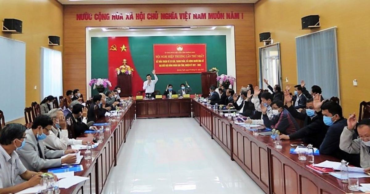 Ủy ban MTTQVN tỉnh tổ chức Hội nghị hiệp thương lần thứ nhất