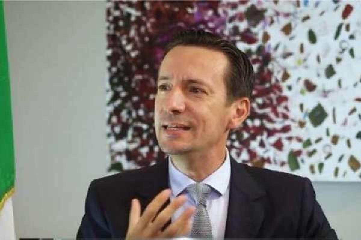 Ông Luca Attanasio, Đại sứ Italia tại Cộng hòa Dân chủ Congo. Ảnh: Twitter