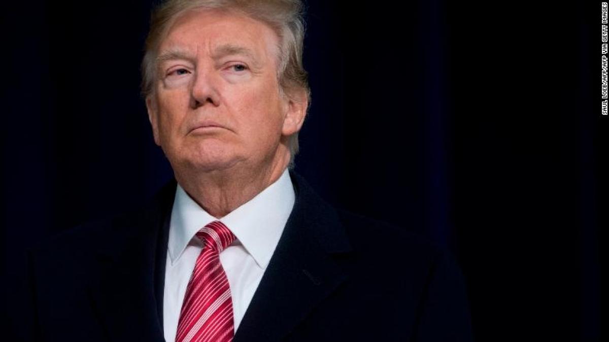 Cựu Tổng thống Donald Trump. Ảnh: CNN