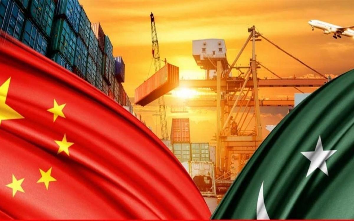 Đồ họa về hành lang kinh tế Trung Quốc-Pakistan. Ảnh: Cpecinfo.