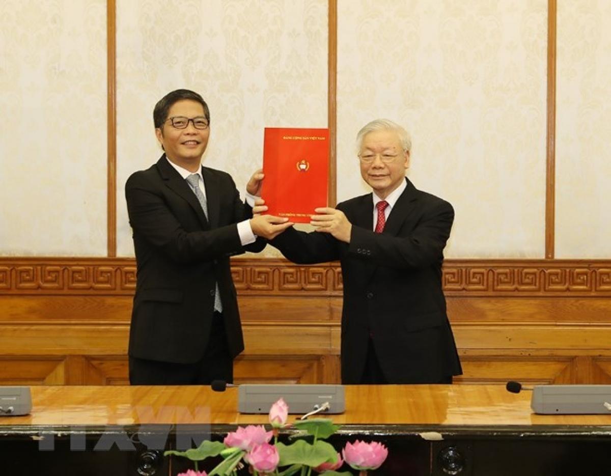 Ông Trần Tuấn Anh được Bộ Chính trị phân công giữ chức Trưởng ban Kinh tế Trung ương. Ảnh: TTXVN