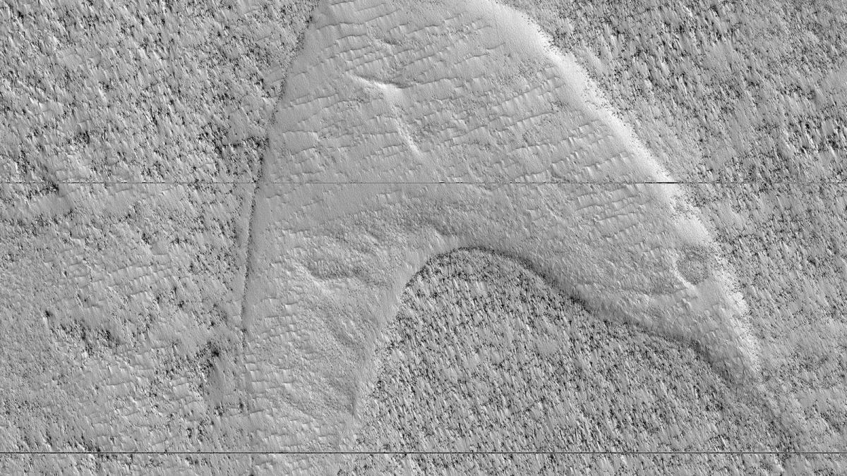 """Nham thạch khi lạnh dần lưu giữ lại hình ảnh giống như """"dấu chân"""" ở một khu vực phía đông nam của sao Hỏa."""