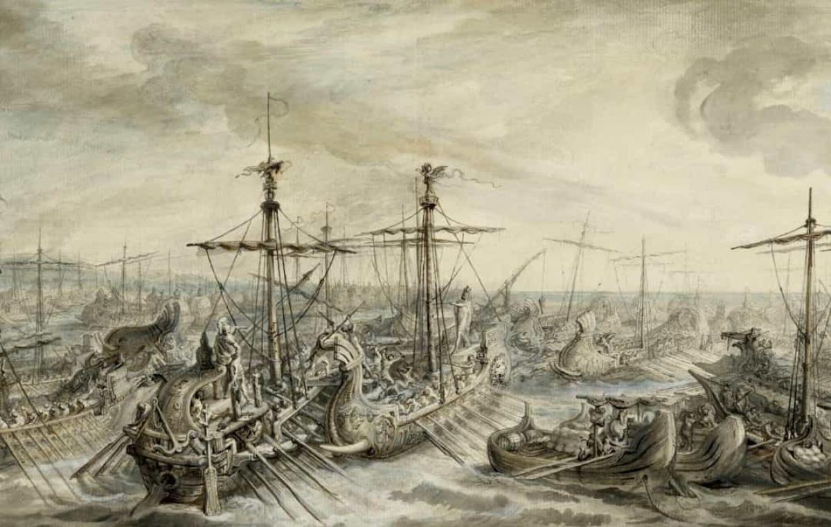 Trận Cape Ecnomus diễn ra ở phía nam Sicily vào năm 156 TCN giữa các hạm đội của người Carthage và Cộng hòa La Mã. Đây là trận chiến diễn ra trong suốt Chiến tranh Punic lần 1 (264 - 241 TCN) và đem đến chiến thắng cho người La Mã. Với 680 tàu chiến và 290.000 binh lính, đây là trận chiến hải quân lớn nhất về số lượng người tham chiến.