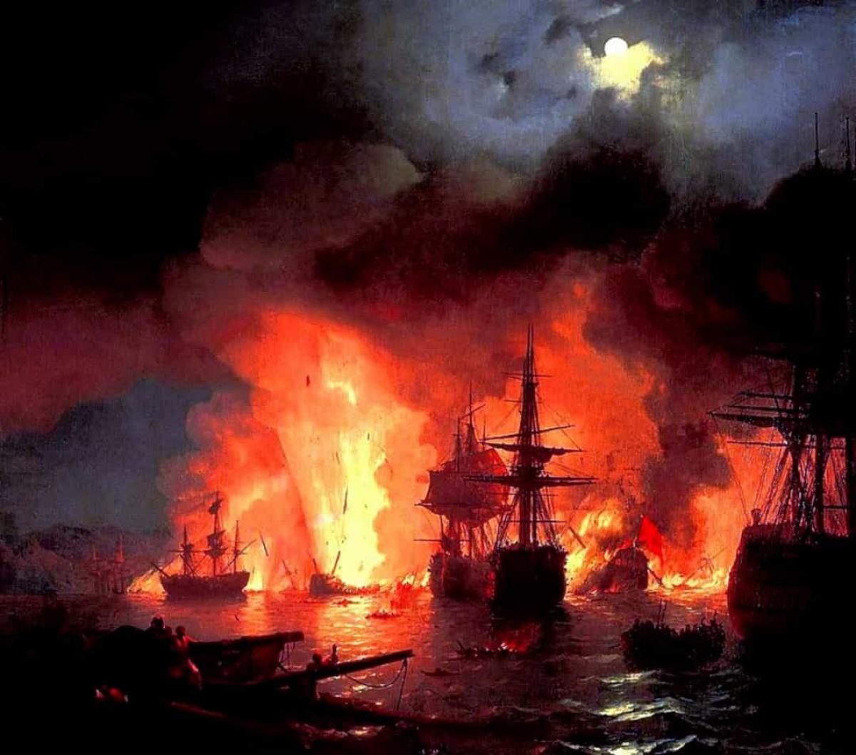 Trận Chesma diễn ra từ 4 - 7/7/1770 gần Vịnh Chesma ngoài khơi mũi Anatolia (thuộc Thổ Nhĩ Kỳ ngày nay) và đảo Chios (một hòn đảo của Hy Lạp trên Biển Aegean). Đây là trận đầu tiên trong số những trận chiến ác liệt giữa Ottoman và Nga trong Chiến tranh Nga - Thổ (1768 - 1774), đồng thời là thất bại trên biển lớn nhất mà đế quốc Ottoman phải trải qua kể từ trận Lepanto.
