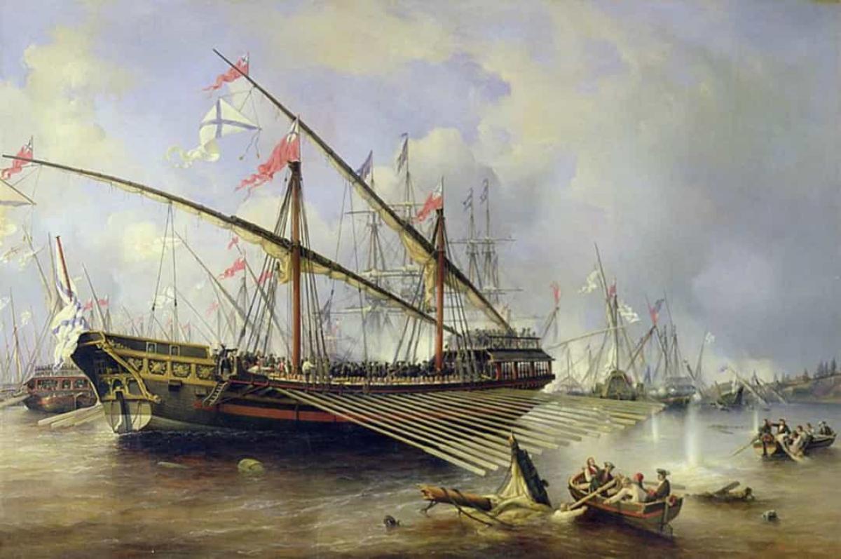 Trận Grengam đã diễn ra trong mùa hè năm 1720 trên đảo Aland. Đây là trận chiến lớn cuối cùng giữa Nga và Thụy Điển. Chiến thắng của Nga đã dẫn đến việc ký kết Hiệp định Nystad vào ngay năm sau đó, chấm dứt sự thù địch giữa 2 quốc gia.