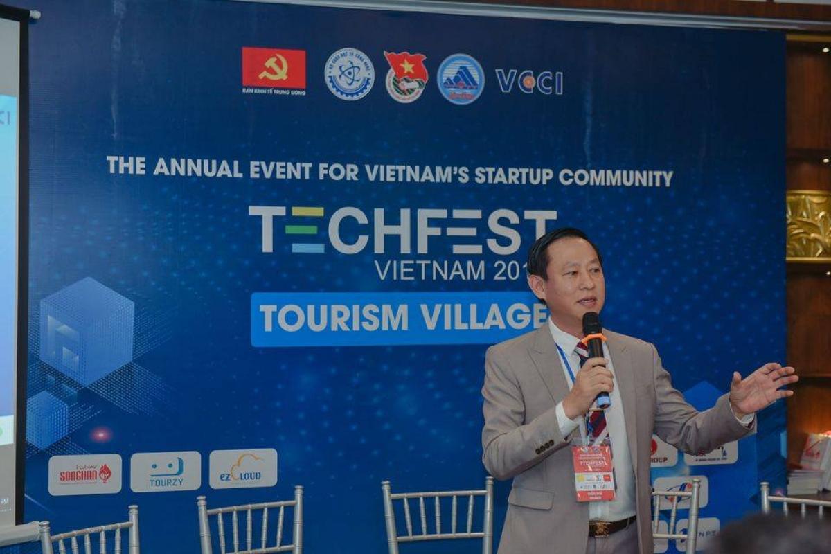 Ông Lý Đình Quân – Giám đốc Trung tâm Ươm tạo khởi nghiệp Sông Hàn