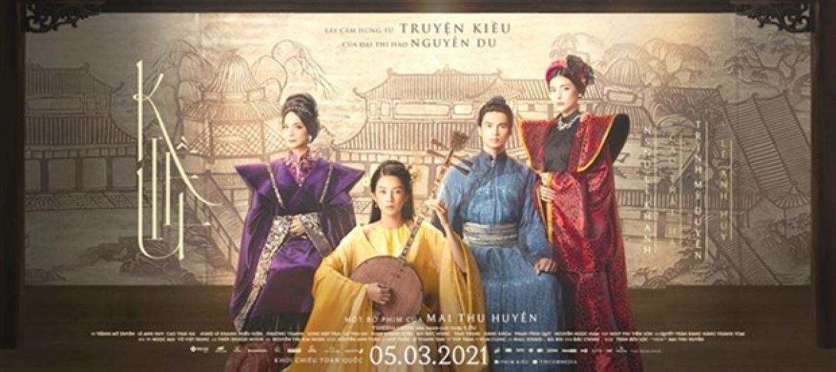 EPIC: The movie poster for Kieu. (Photo courtesy of the producers)