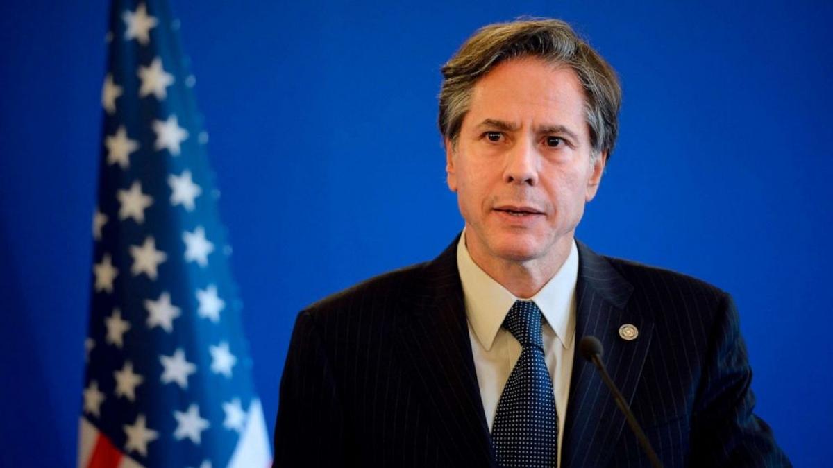 Ngoại trưởng Mỹ Antony Blinken. Ảnh: Reuters