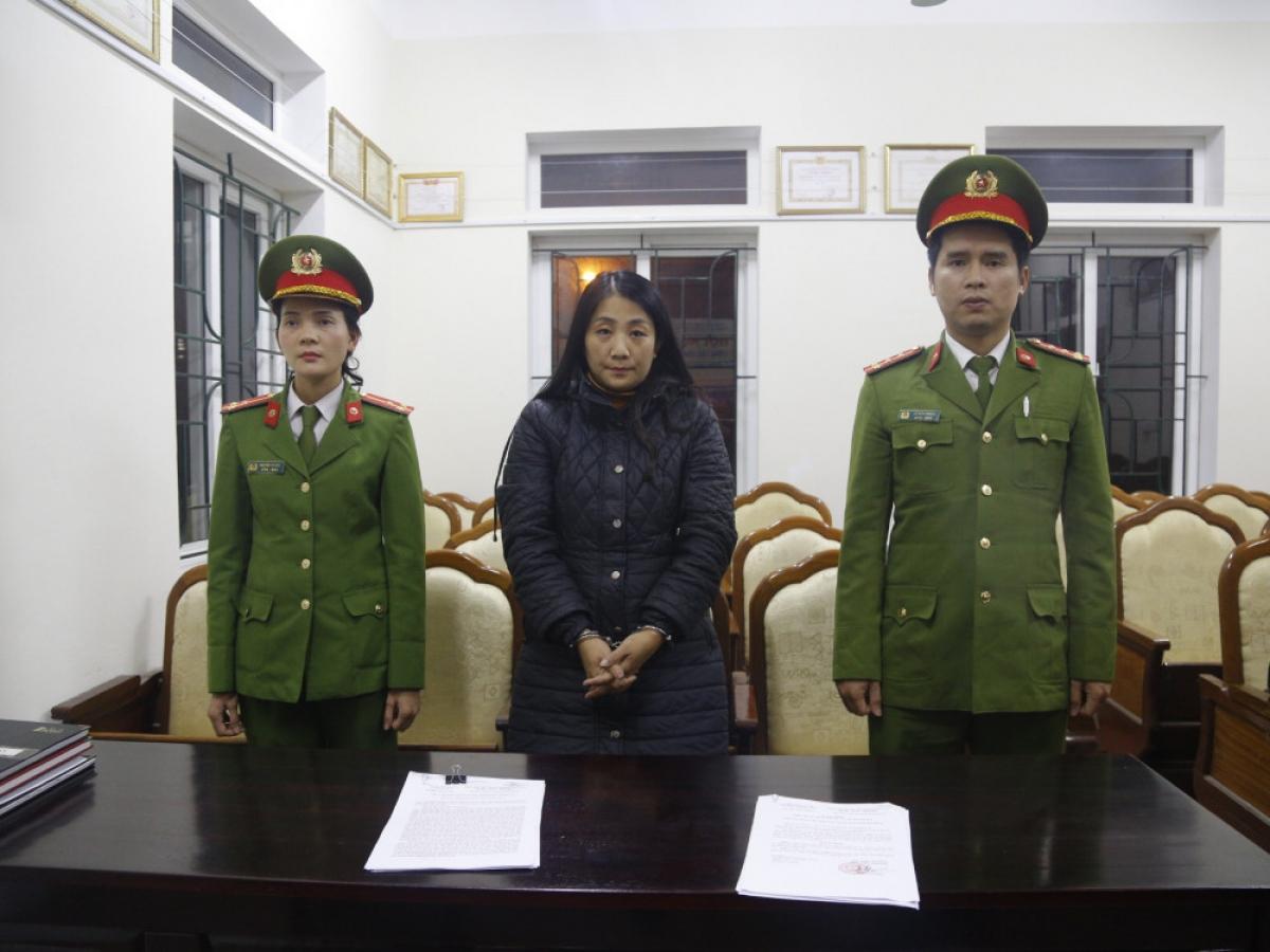 Nguyễn Thị Thanh Hóa bị bắt