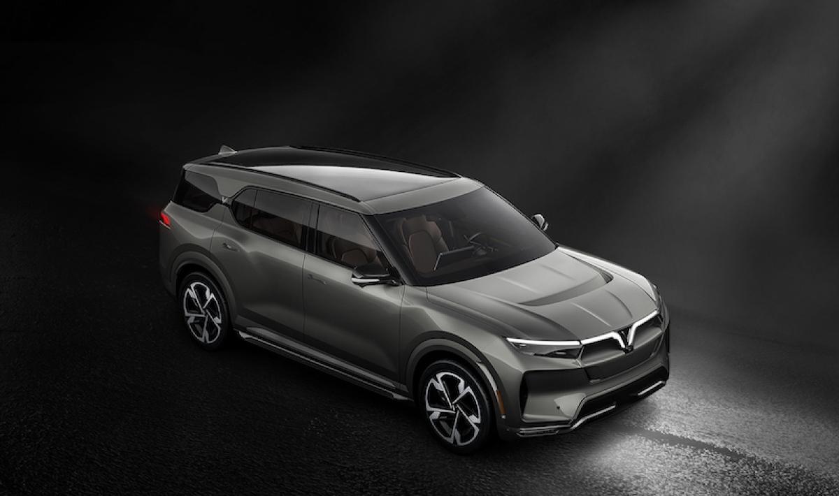VinFast VF33 – Mẫu SUV thuộc phân khúc E dự kiến đến tay người tiêu dùng Mỹ vào Quý 2/2022.