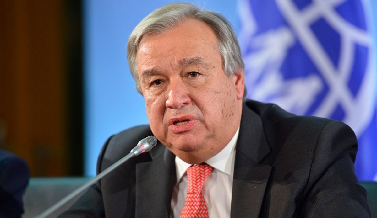 Tổng Thư ký Liên Hợp QuốcAntónio Guterres. Ảnh: UN