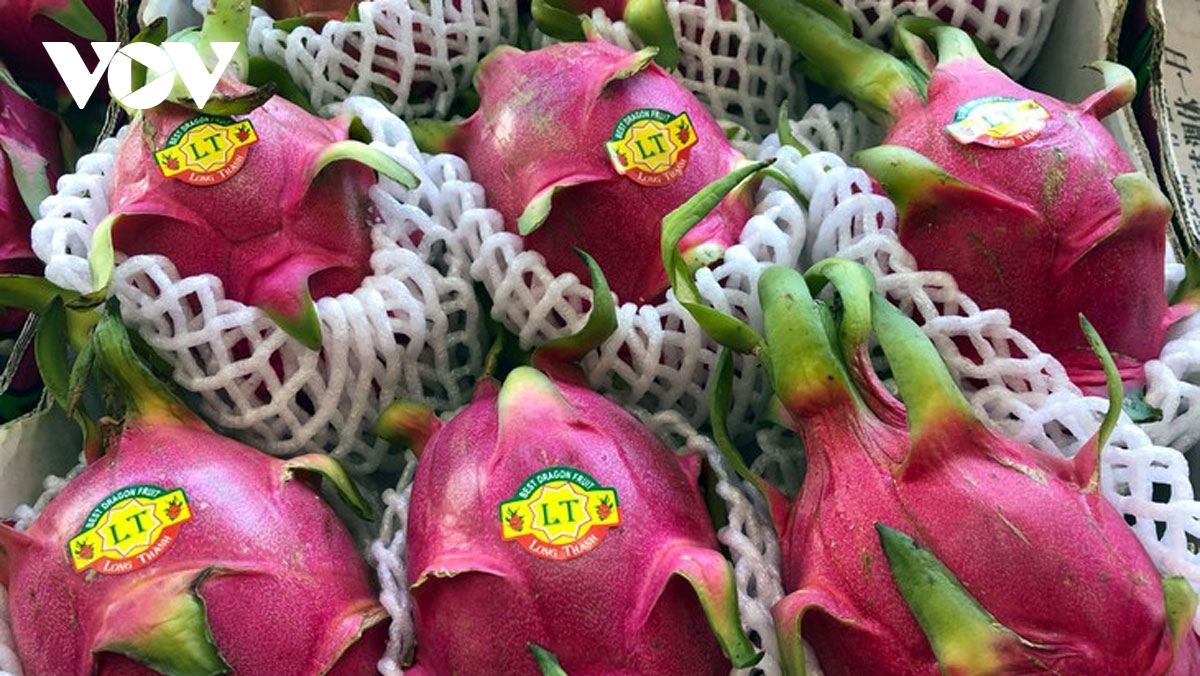 Vietnamese agricultural products are sold atAustralian supermarkets