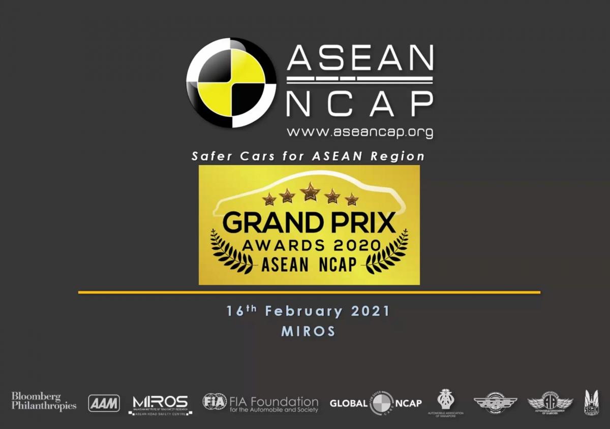 Năm nay là lần thứ 4 lễ trao giải ASEAN NCAP Grand Prix Awards được tổ chức.