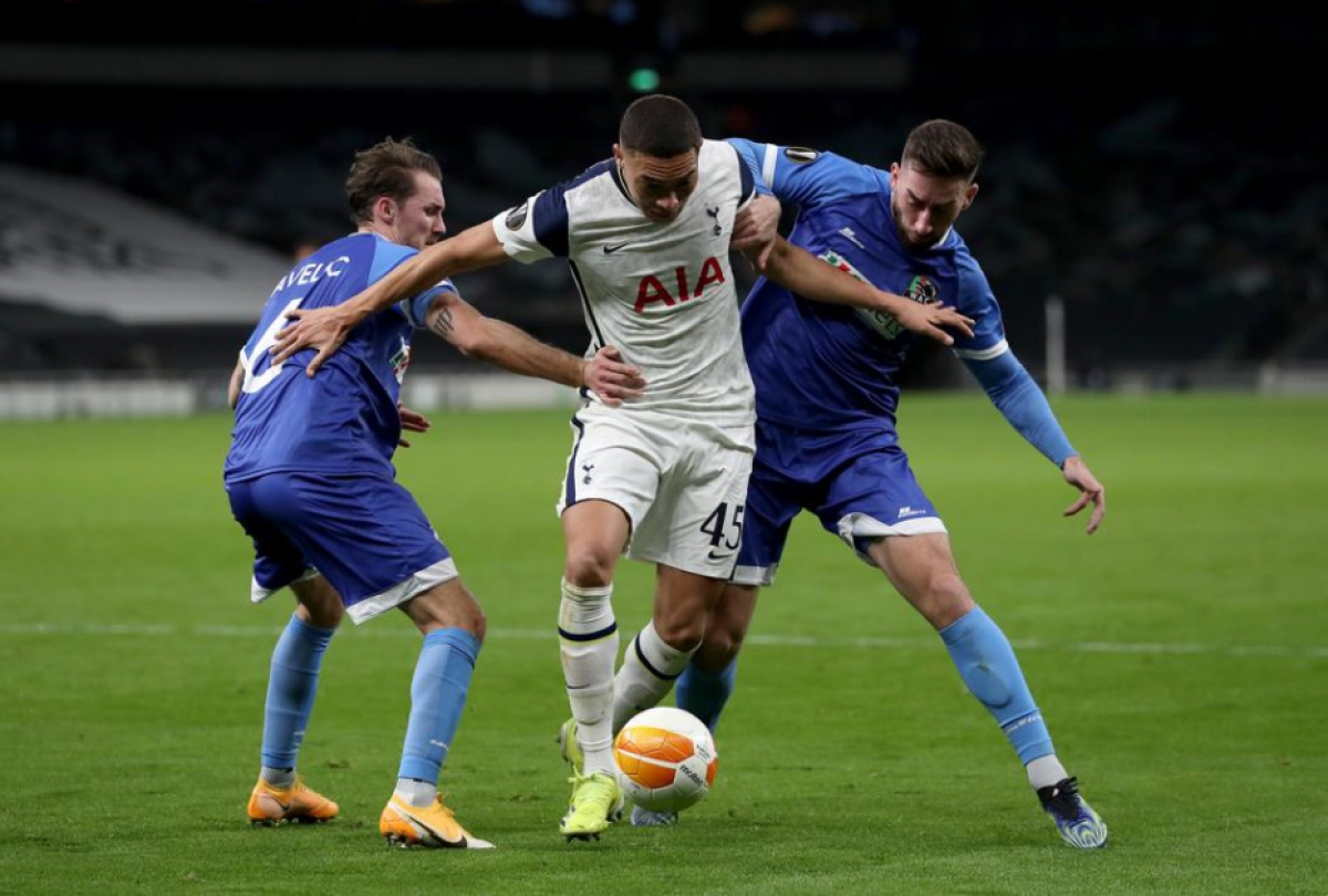 Sau chiến thắng dễ dàng 4-1 ở lượt đi, Tottenham chỉ tung ra sân đội hình dự bị trong trận đấu lượt về vớiWolfsberger ở vòng 1/16 Europa League.