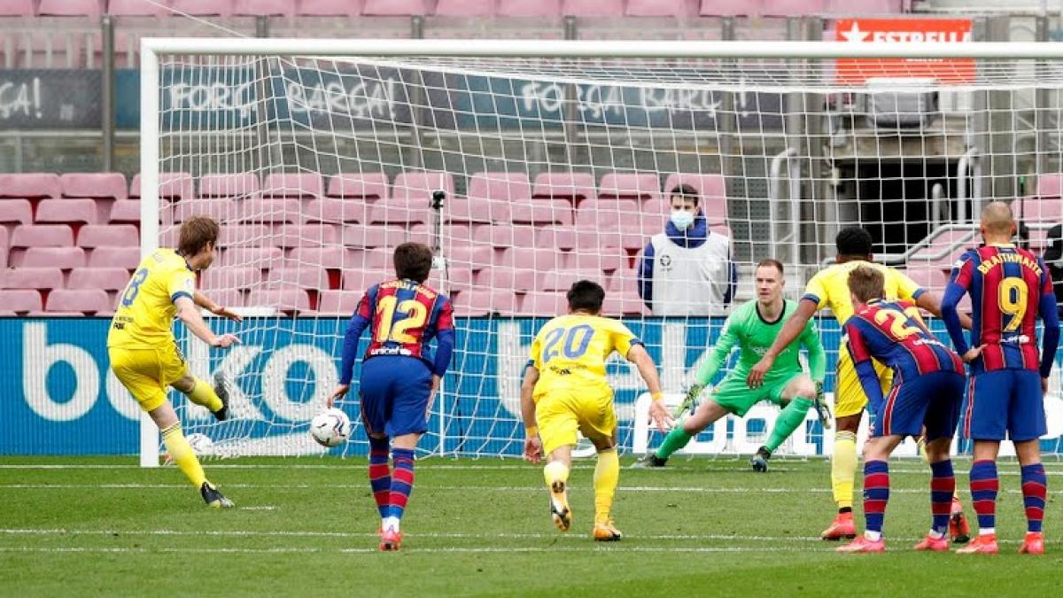 Kết quả hình ảnh cho barcelona 1 1 cadiz