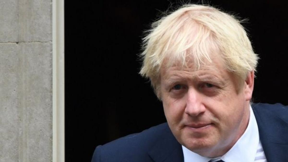 Thủ tướng Anh Boris Johnson. Ảnh: BBC.