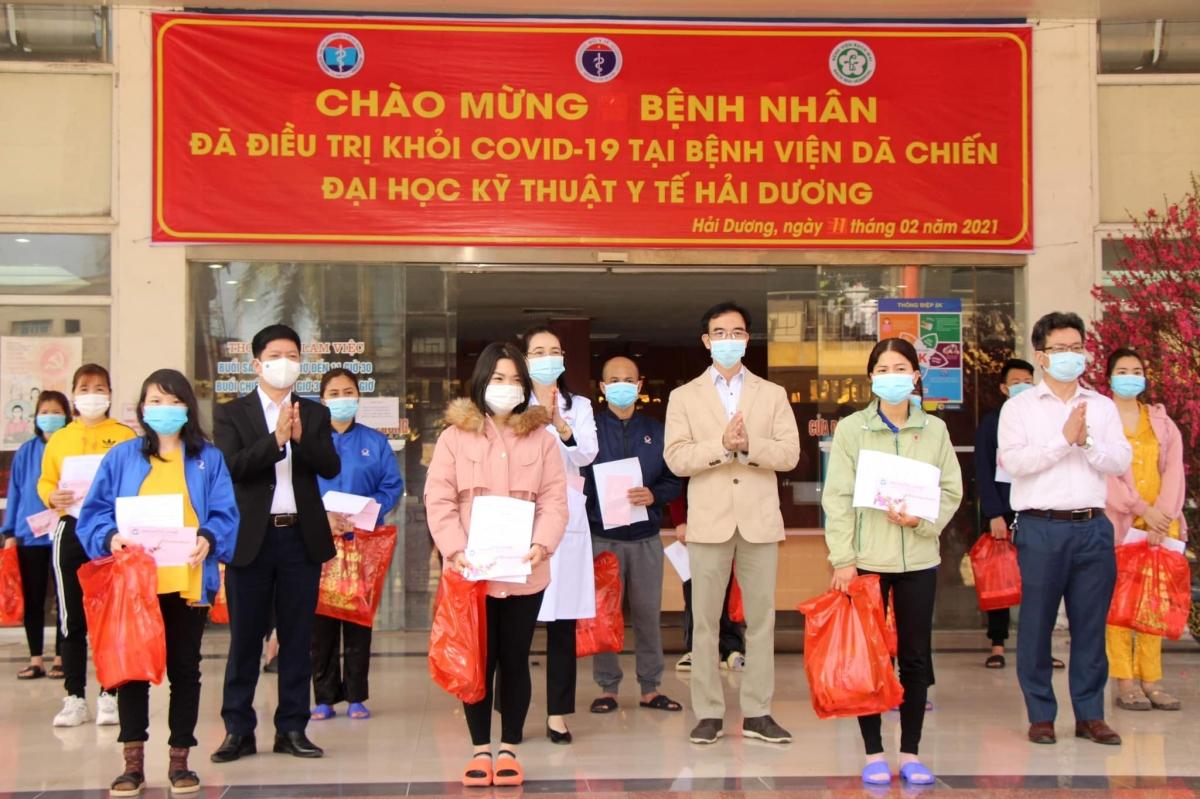 27 bệnh nhân COVID-19 đã được trao giấy chứng nhận khỏi bệnh.
