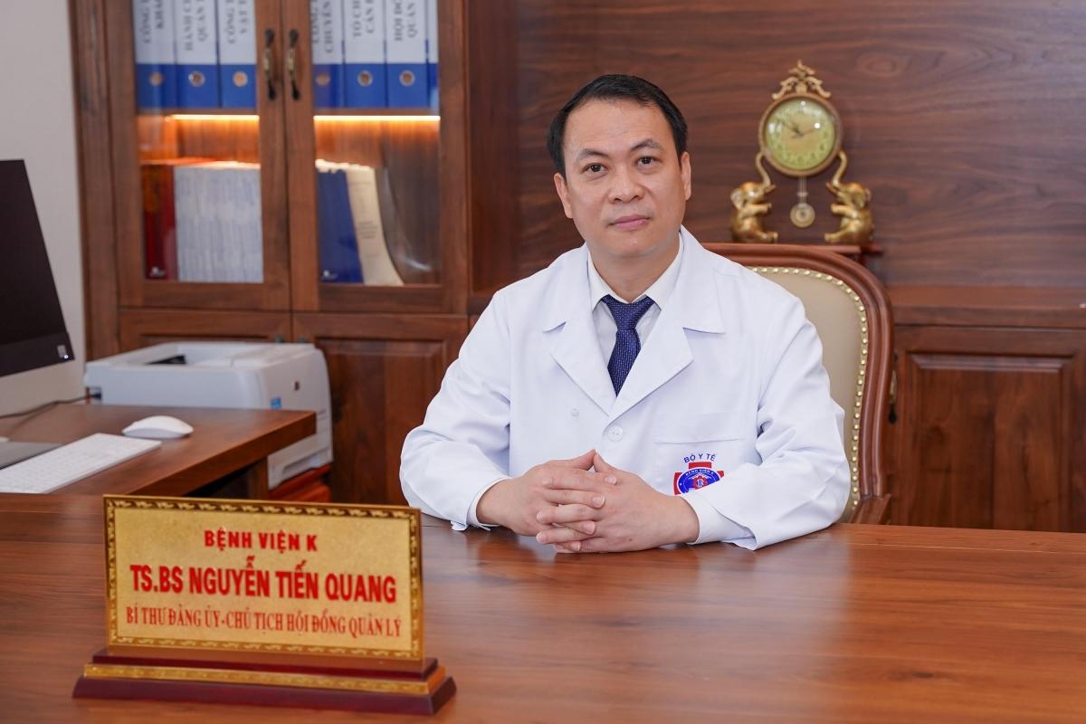 TS.BS Nguyễn Tiến Quang, Chủ tịch Hội đồng quản lý Bệnh viện K.