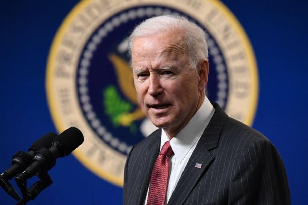 Tổng thống Mỹ Joe Biden. Ảnh:AFP/GETTY