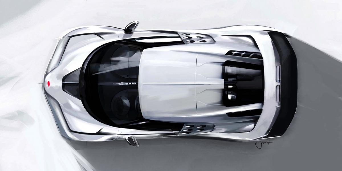 Tiếp nối truyền thống của Bugatti với những thiết kế xe thể thao hiệu năng cao như trên EB 110 cùng nhiều mẫu xe huyền thoại khác, Centodieci mang thiết kế với nhiều điểm nhấn pha trộn giữa những mẫu xe hiện tại, tương lai cũng như quá khứ của hãng.