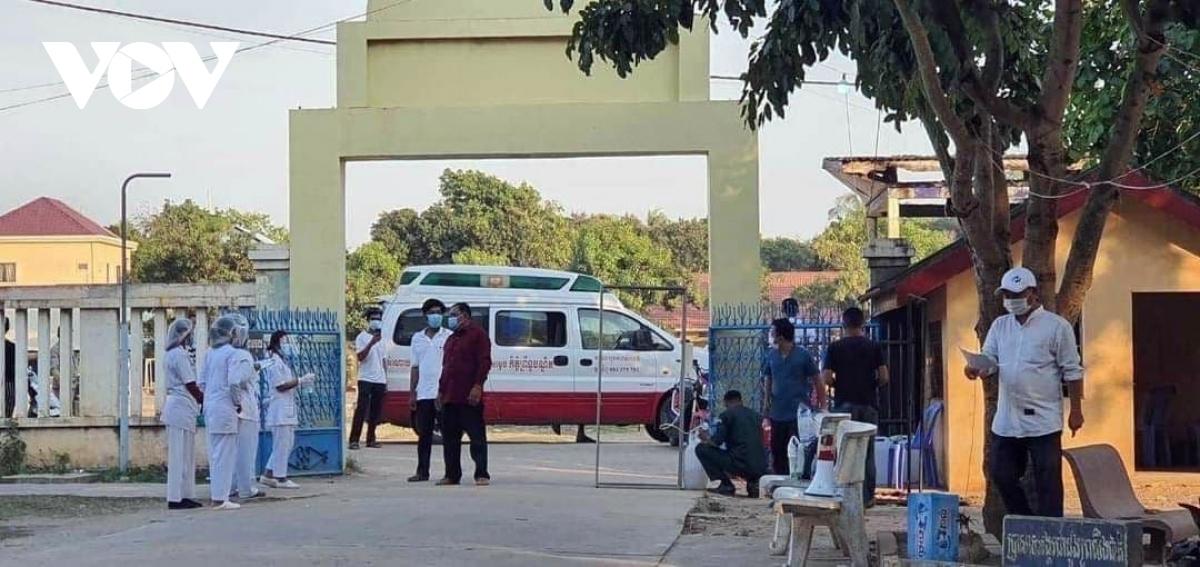 Campuchia liên tiếp phát hiện lây nhiễm Covid-19 trong cộng đồng.