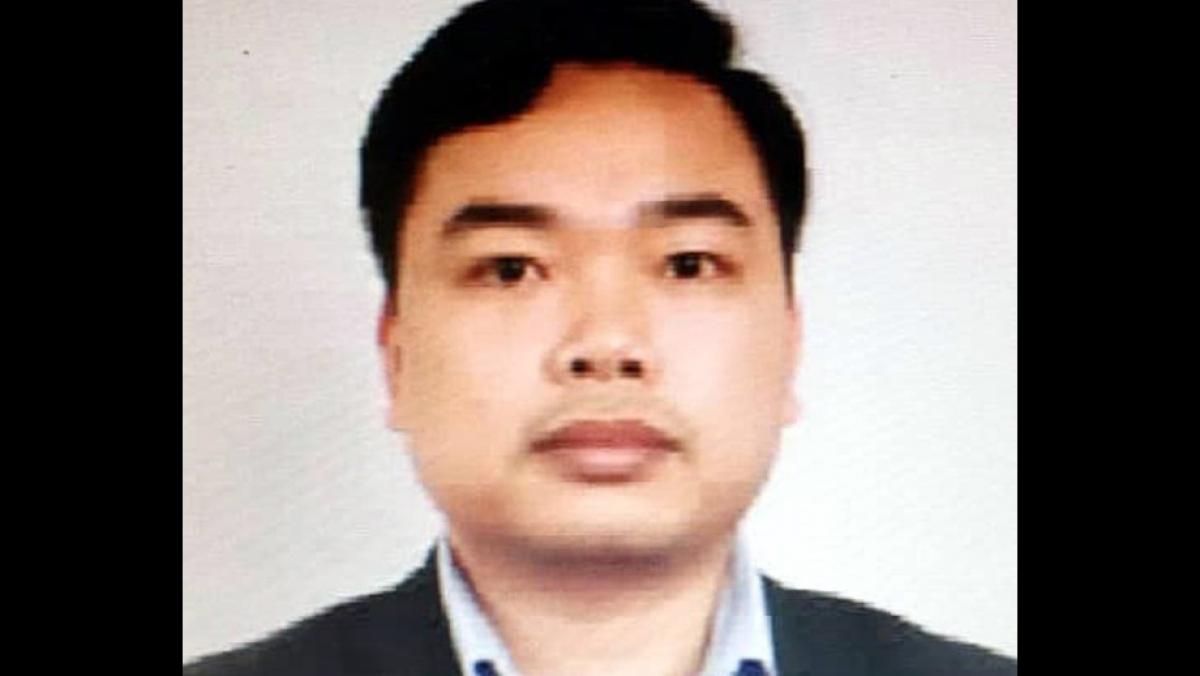 Bị can Nguyễn Trung Kiên