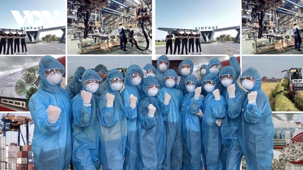Vietnam continues its economic success story after containing the pandemic COVID-19.