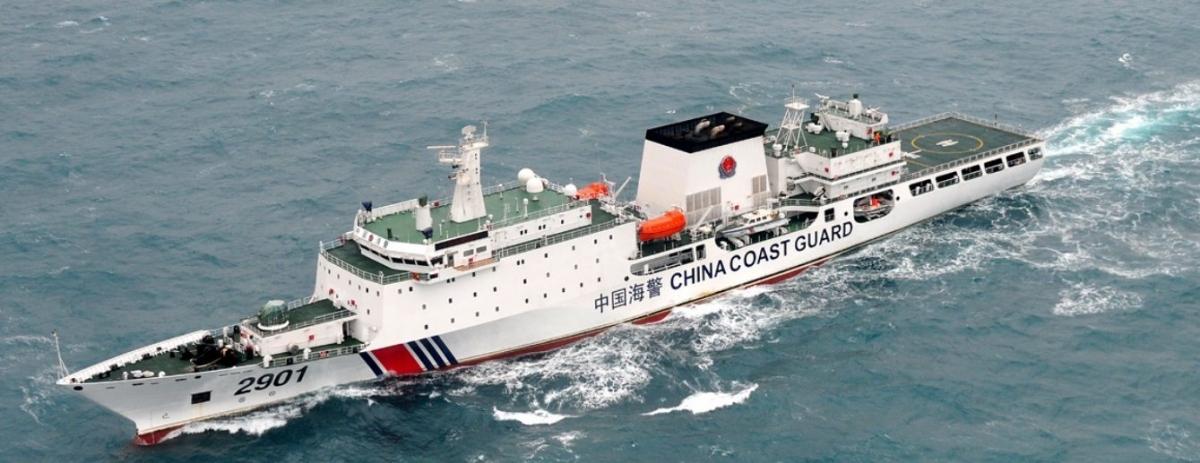 Tàu hải cảnh của Trung Quốc. Ảnh: Japan Forward.