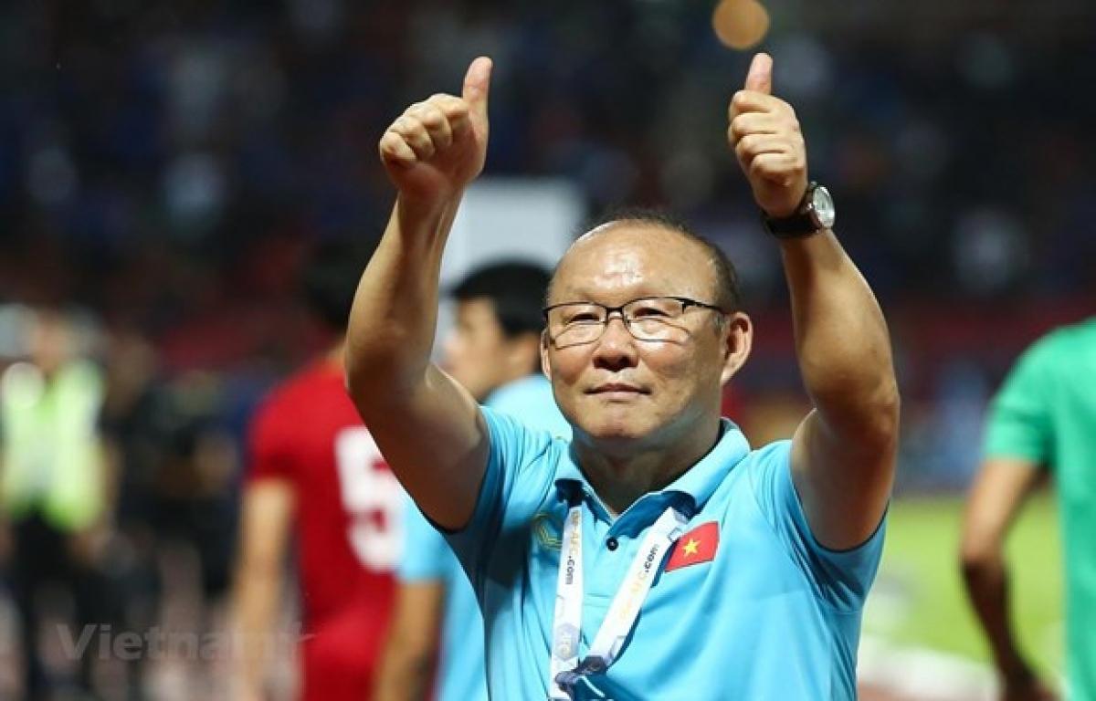 Head coach of the national men's football team Park Hang-seo