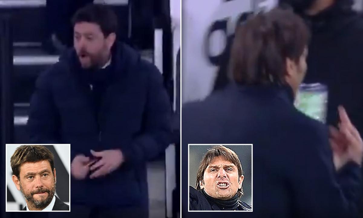 Chủ tịch Agnelli ăn miếng trả miếng với HLV Conte. (Ảnh: Daily Mail)