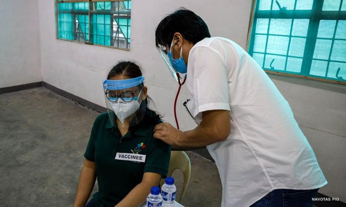 Philippines chuẩn bị cho chương trình tiêm chủng Covid-19. (Nguồn : CNN Philippines)