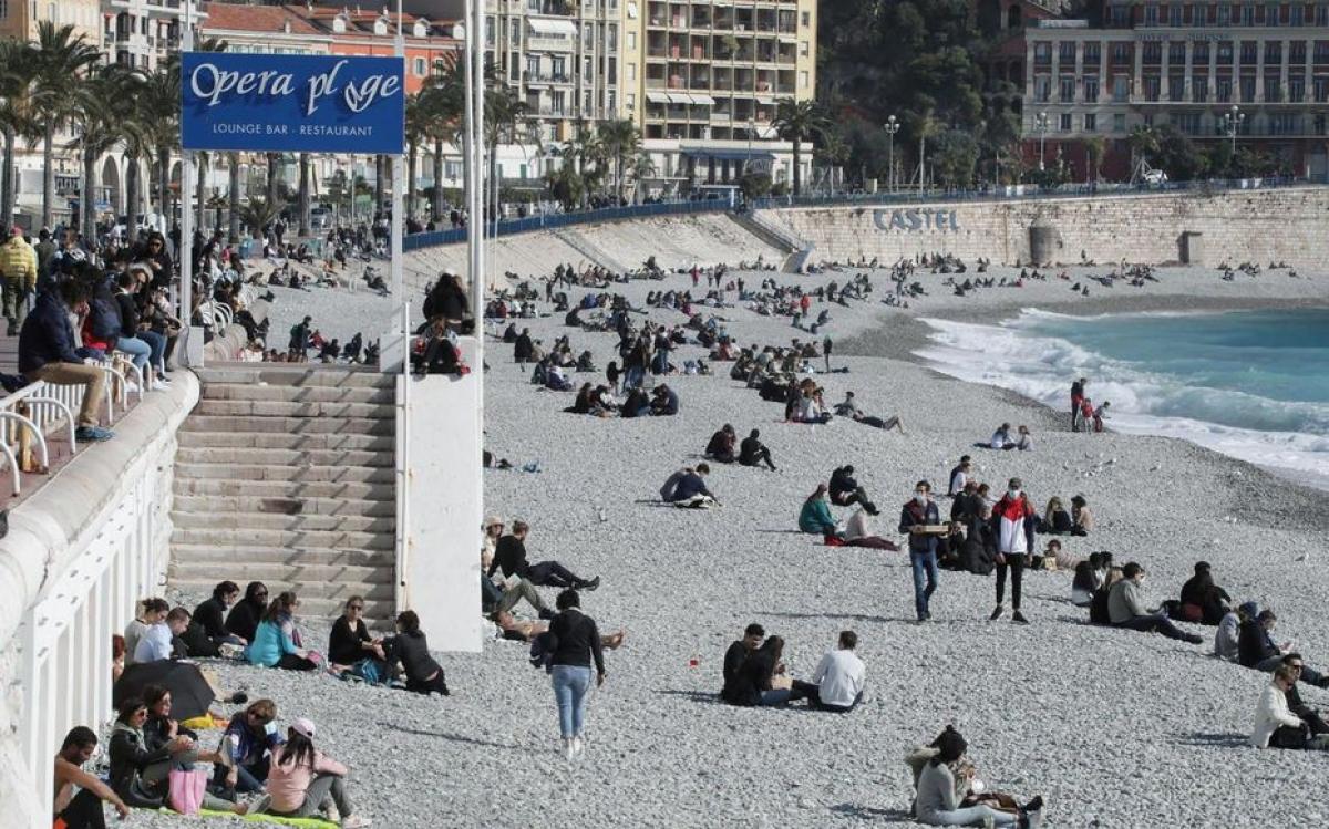 Thành phố Nice có thể sắp phong tỏa vào cuối tuần. (Ảnh: Nice Matin)