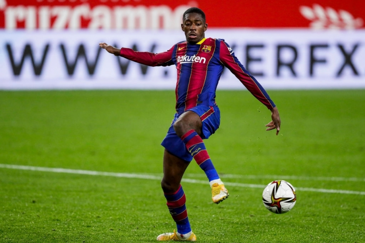 Dembele khiến Barca mất toi 5 triệu Euro cho Dortmund (Ảnh: Getty).