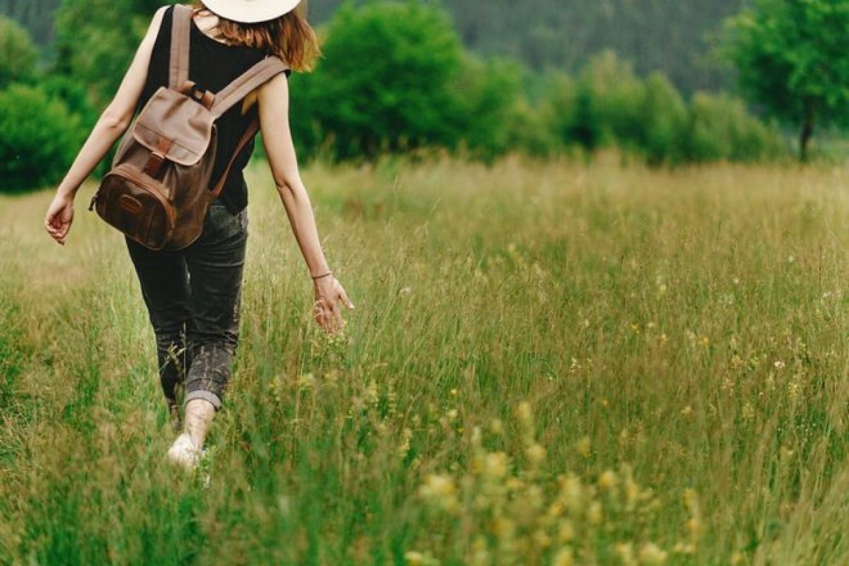 Hãy tận hưởng thiên nhiên khi bạn đi bộ. Ảnh minh họa: SHUTTERSTOCK