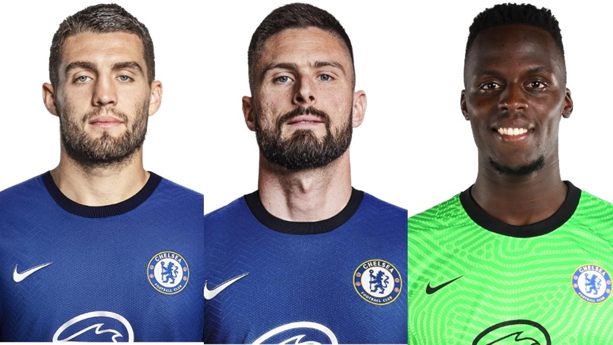 Đội hình dự kiến của Chelsea trước MU gồm những gương mặt sau: