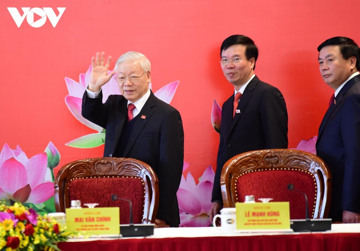 Toàn văn diễn văn bế mạc Đại hội Đảng lần thứ XIII của Tổng Bí thư, Chủ tịch nước - Ảnh 1.