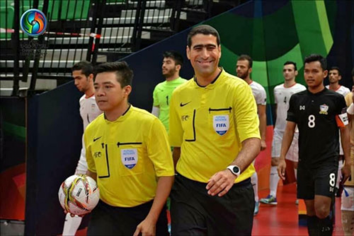 Truong Quoc Dung is chosen among the list of potential referees forthe upcoming FIFA Futsal World Cup 2021.