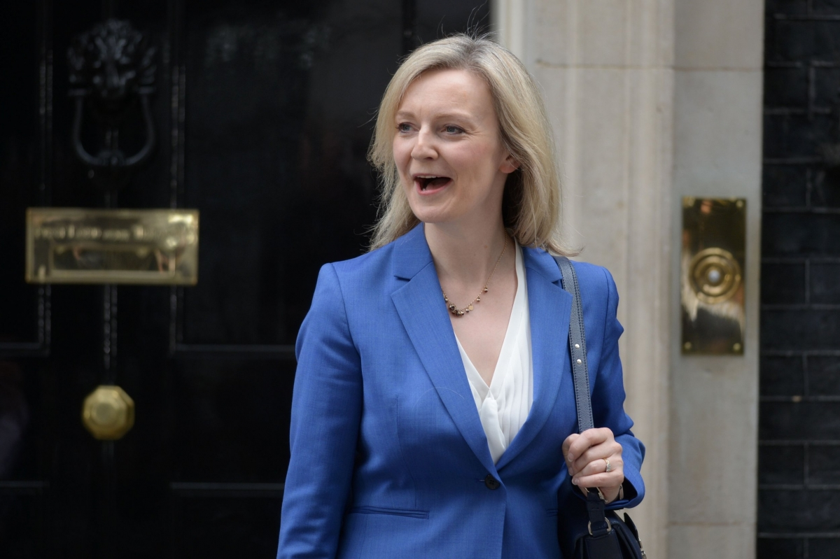 Bộ trưởng Thương mại quốc tế của Anh Elizabeth Truss - (Ảnh: AP)