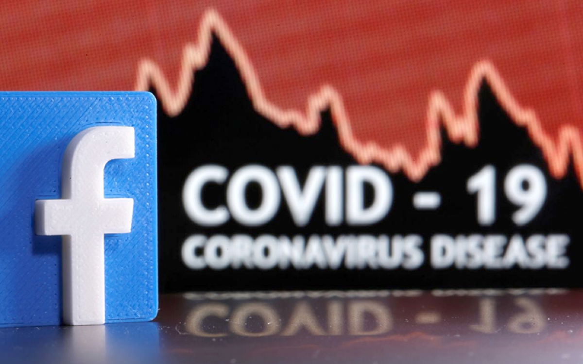 Facebook sẽ gỡ bỏ những thông tin sai lệch về vaccine ngừa Covid-19. Ảnh minh họa.