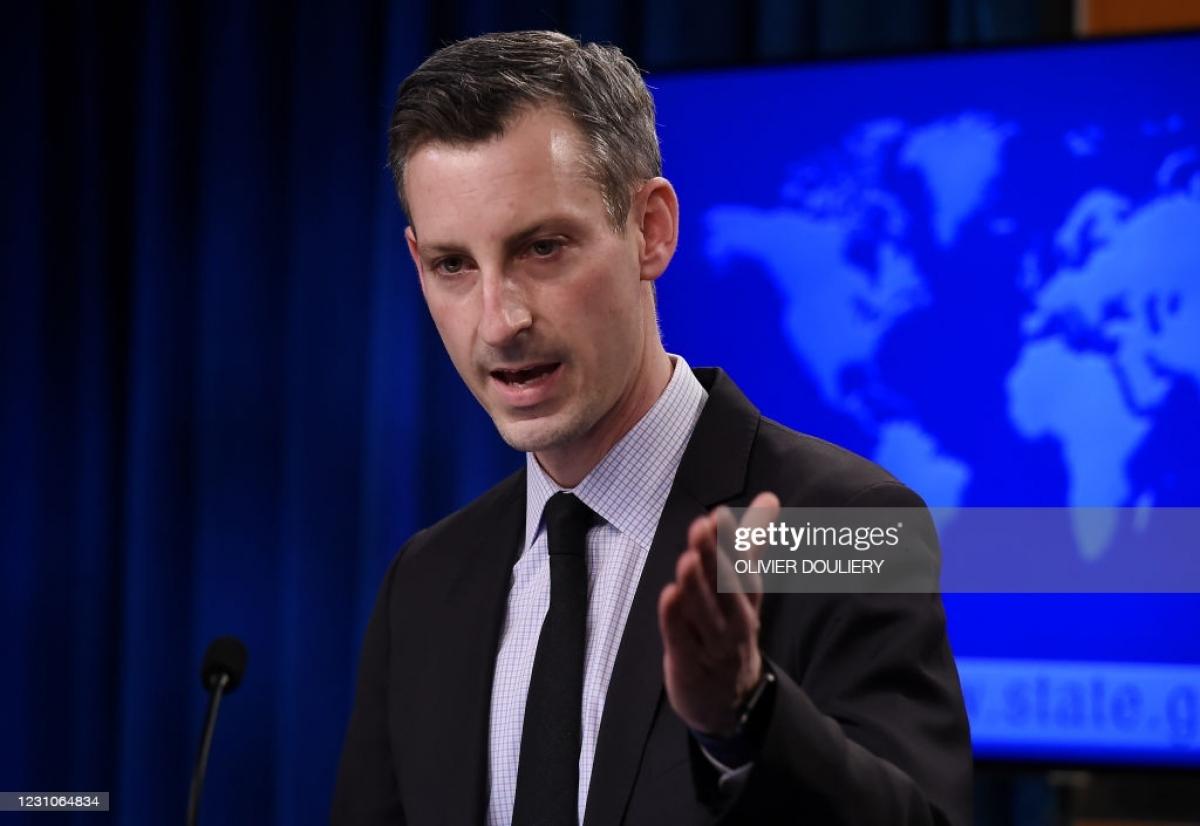 Phát ngôn viên Bộ Ngoại giao Mỹ Ned Price