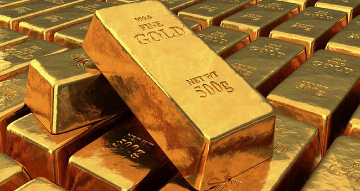 Vàng trong nước xuống dưới 57 triệu đồng/lượng.(Ảnh minh họa: KT)