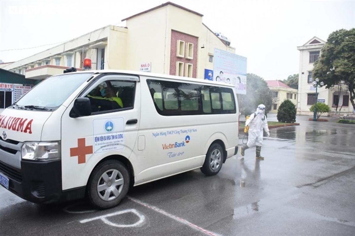Bệnh viện dã chiến số 1 đặt tại Trung tâm Y tế TP Chí Linh được thành lập ngày 29/1 để thu dung, điều trị cho các bệnh nhân COVID-19. Thời gian qua, Bệnh viện thu dung và điều trị cho hơn 300 bệnh nhân COVID-19, trong đó 186 bệnh nhân được công bố khỏi bệnh, số bệnh nhân còn lại sẽ tiếp tục được điều trị tại các cơ sở y tế khác./.
