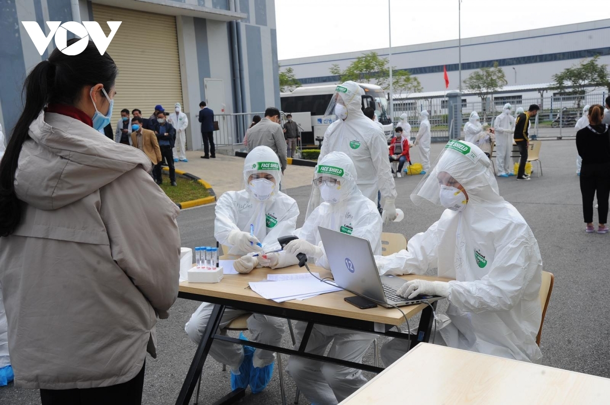 The northern province of Hai Duong province is set to increase the testing capacity to 80,000 samples per day