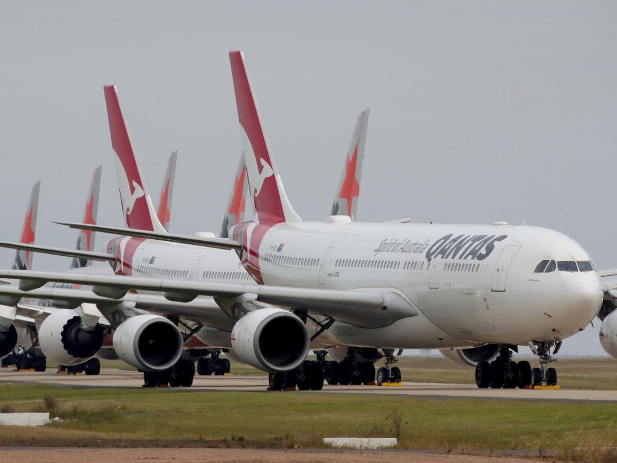 Hãng hàng không Qantas của Australia kỳ vọng mở lại hầu hết các đường bay quốc tế từ tháng 10.2021. Ảnh: Escape.