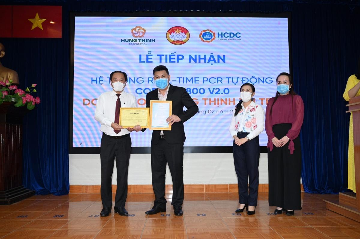 Ủy ban MTTQ Việt Nam TP.HCM và Sở Y tế TP.HCM gửi thư cảm ơn đến Tập đoàn Hưng Thịnh vì sự đồng hành trong công tác phòng, chống dịch Covid-19.