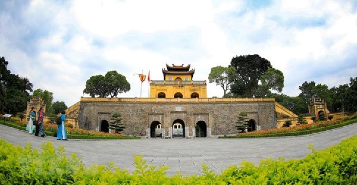 Bac Mon (northern gate) - one of the gates of the Thang Long Imperial Citadel